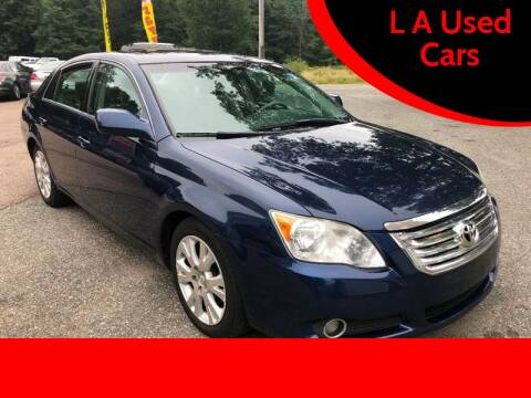 2008 Toyota Avalon for sale at L A Used Cars in Abington MA
