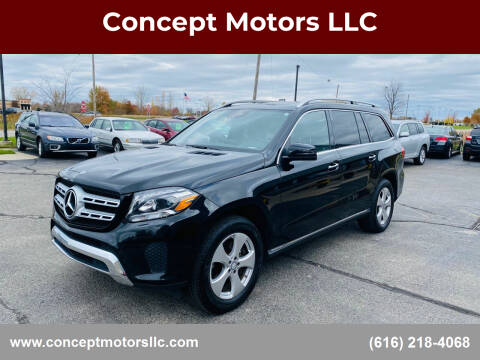 2017 Mercedes-Benz GLS for sale at Concept Motors LLC in Holland MI