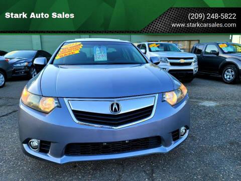 2011 Acura TSX for sale at Stark Auto Sales in Modesto CA