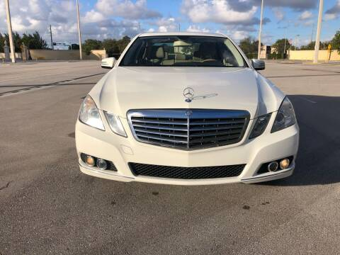 2011 Mercedes-Benz E-Class for sale at Nation Autos Miami in Hialeah FL