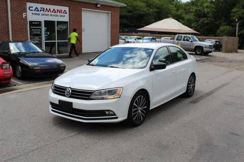 2016 Volkswagen Jetta for sale at CARMANIA LLC in Chesapeake VA