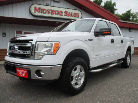2013 Ford F-150 for sale at Midstate Sales in Foley MN