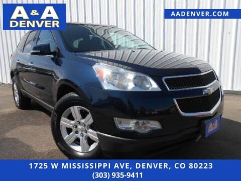 2012 Chevrolet Traverse for sale at A & A AUTO LLC in Denver CO