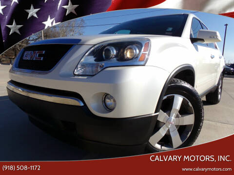 2010 GMC Acadia for sale at Calvary Motors, Inc. in Bixby OK