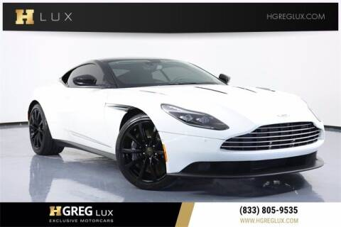 2017 Aston Martin DB11 for sale at HGREG LUX EXCLUSIVE MOTORCARS in Pompano Beach FL