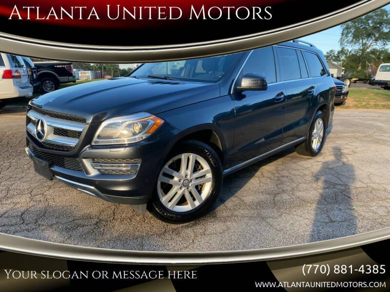 2013 Mercedes-Benz GL-Class for sale at Atlanta United Motors in Jefferson GA