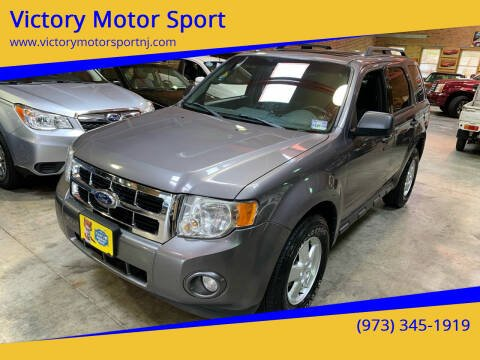 2011 Ford Escape for sale at Victory Motor Sport in Paterson NJ