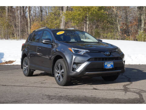 2018 Toyota RAV4 for sale at VILLAGE MOTORS in South Berwick ME