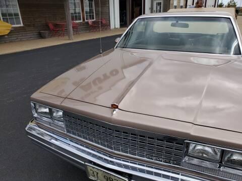 1983 Chevrolet El Camino for sale at Gary Miller's Classic Auto in El Paso IL