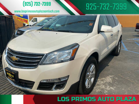 2015 Chevrolet Traverse for sale at Los Primos Auto Plaza in Antioch CA