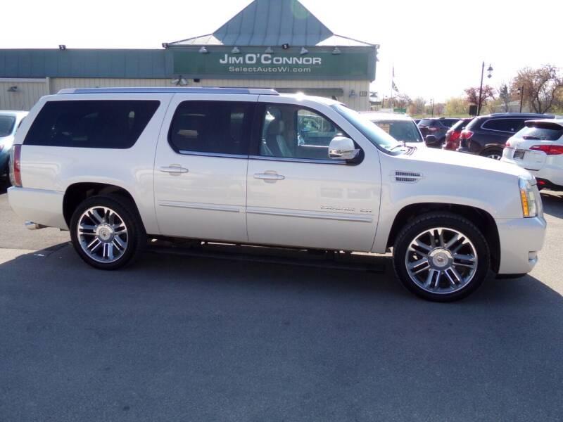 2013 Cadillac Escalade ESV for sale at Jim O'Connor Select Auto in Oconomowoc WI