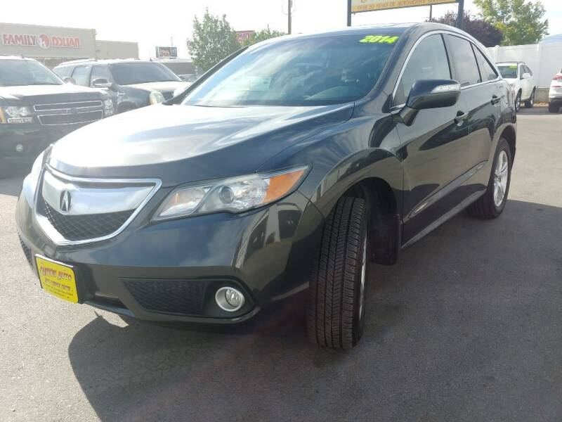 2014 Acura RDX for sale at Canyon Auto Sales in Orem UT