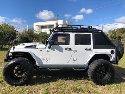 2018 Jeep Wrangler JK Unlimited for sale at South Florida Jeeps in Fort Lauderdale FL
