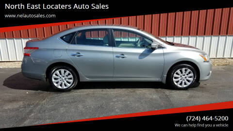 2013 Nissan Sentra for sale at North East Locaters Auto Sales in Indiana PA