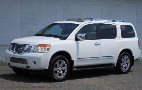 2010 Nissan Armada for sale at Kohmann Motors & Mowers in Minerva OH