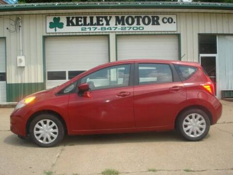 2015 Nissan Versa Note for sale at Kelley Motor Co. in Hamilton IL