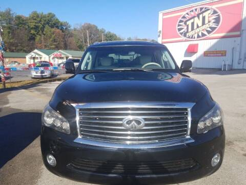 2012 Infiniti QX56 for sale at AUTOPLEX 528 LLC in Huntsville AL