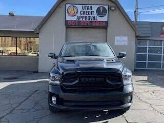2018 RAM Ram Pickup 1500 for sale at Utah Credit Approval Auto Sales in Murray UT