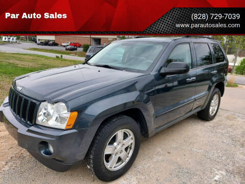 2007 Jeep Grand Cherokee for sale at Par Auto Sales in Lenoir NC