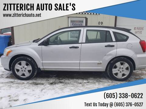 2007 Dodge Caliber for sale at ZITTERICH AUTO SALE'S in Sioux Falls SD