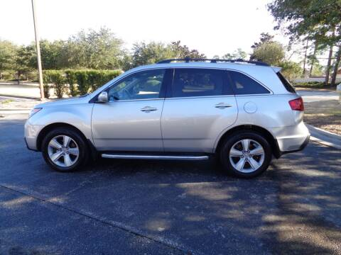 2013 Acura MDX for sale at BALKCUM AUTO INC in Wilmington NC