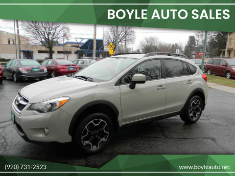 2014 Subaru XV Crosstrek for sale at Boyle Auto Sales in Appleton WI