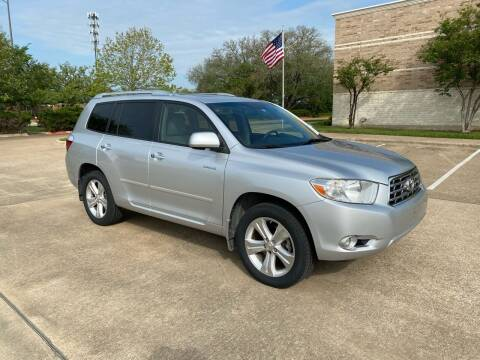 2008 Toyota Highlander for sale at Pitt Stop Detail & Auto Sales in College Station TX