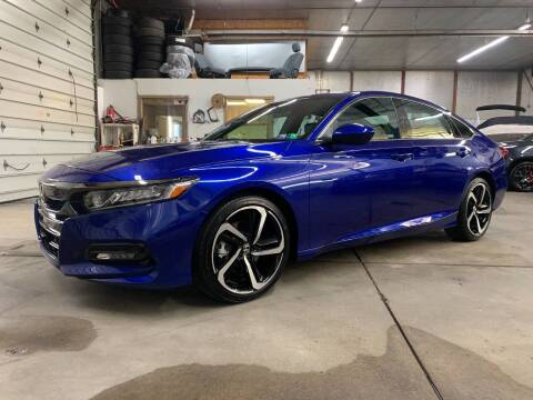 2019 Honda Accord for sale at T James Motorsports in Gibsonia PA