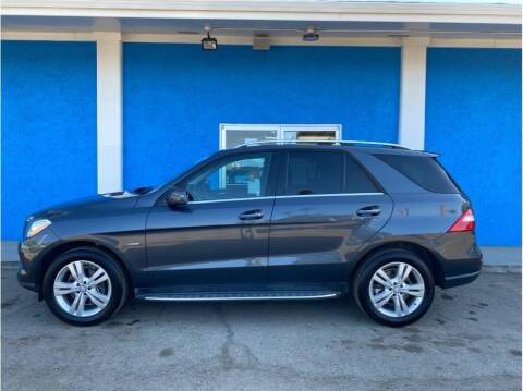2012 Mercedes-Benz M-Class for sale at Khodas Cars in Gilroy CA