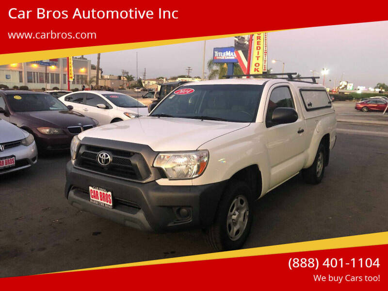 2014 Toyota Tacoma for sale at Car Bros Automotive Inc in Lomita CA
