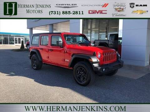 2020 Jeep Wrangler Unlimited for sale at Herman Jenkins Used Cars in Union City TN