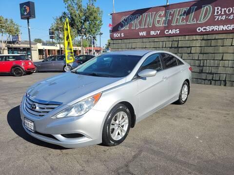 2011 Hyundai Sonata for sale at SPRINGFIELD BROTHERS LLC in Fullerton CA
