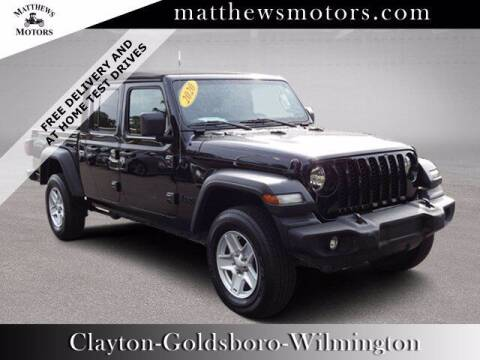2020 Jeep Gladiator for sale at Auto Finance of Raleigh in Raleigh NC