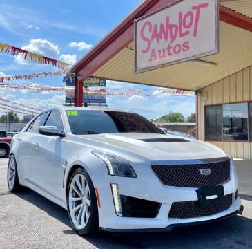 2018 Cadillac CTS-V for sale at Sandlot Autos in Tyler TX