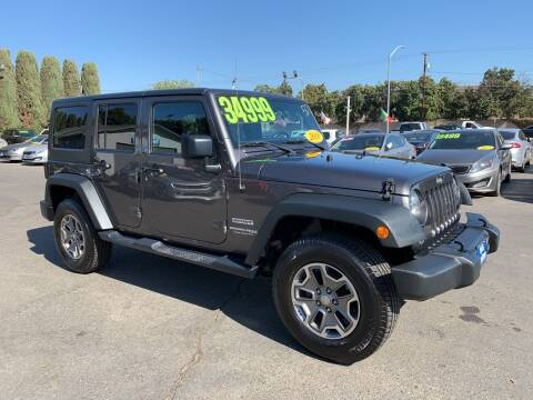 2018 Jeep Wrangler JK Unlimited for sale at Blue Diamond Auto Sales in Ceres CA