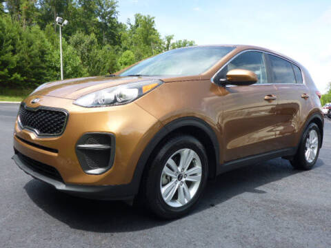 2019 Kia Sportage for sale at RUSTY WALLACE KIA OF KNOXVILLE in Knoxville TN