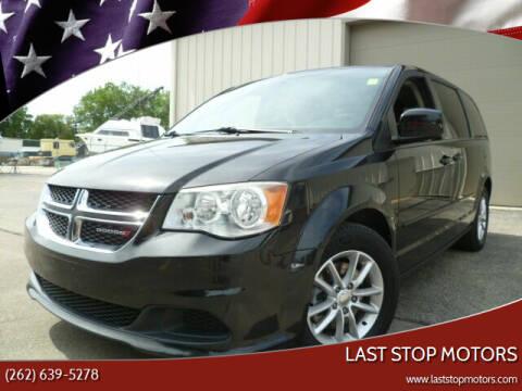 2014 Dodge Grand Caravan for sale at Last Stop Motors in Racine WI