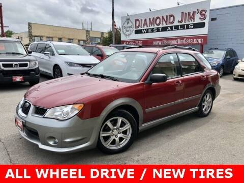 2007 Subaru Impreza for sale at Diamond Jim's West Allis in West Allis WI