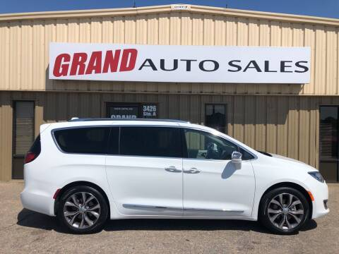 2020 Chrysler Pacifica for sale at GRAND AUTO SALES in Grand Island NE