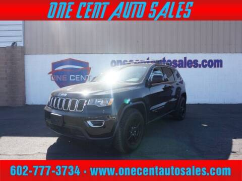 2017 Jeep Grand Cherokee for sale at One Cent Auto Sales in Glendale AZ