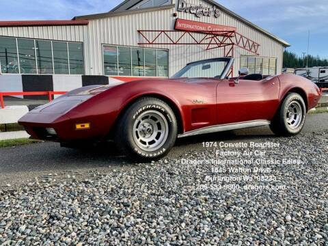1974 Chevrolet Corvette for sale at Drager's International Classic Sales in Burlington WA