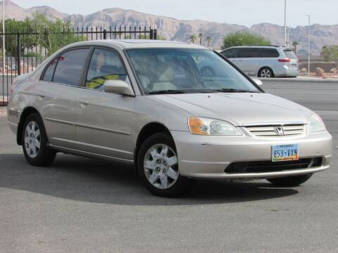 2001 Honda Civic for sale at Best Auto Buy in Las Vegas NV
