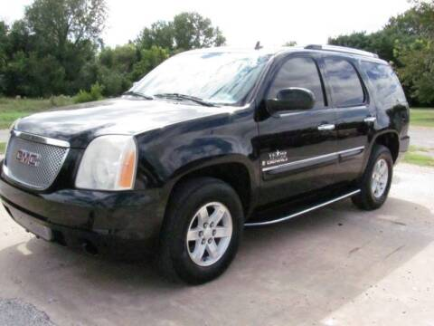 2008 GMC Yukon for sale at CANTWEIGHT CLASSICS in Maysville OK