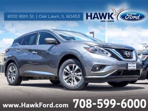 2018 Nissan Murano for sale at Hawk Ford of Oak Lawn in Oak Lawn IL
