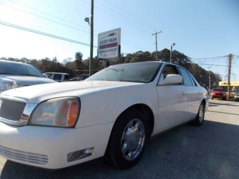 2002 Cadillac DeVille for sale at Deer Park Auto Sales Corp in Newport News VA