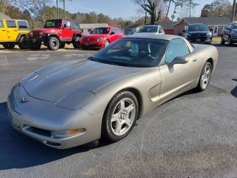 2001 Chevrolet Corvette for sale at J Wilgus Cars in Selbyville DE
