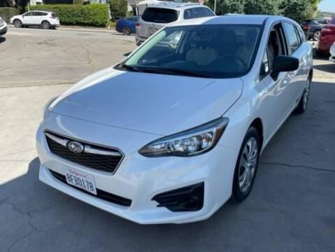 2018 Subaru Impreza for sale at CAR CITY SALES in La Crescenta CA