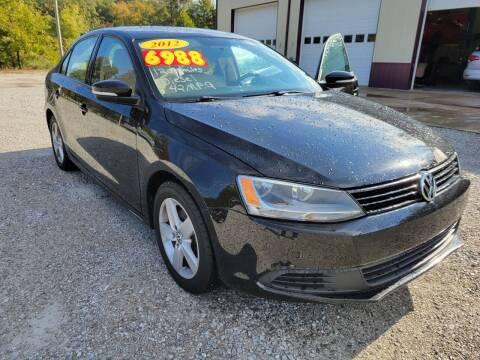 2012 Volkswagen Jetta for sale at COOPER AUTO SALES in Oneida TN
