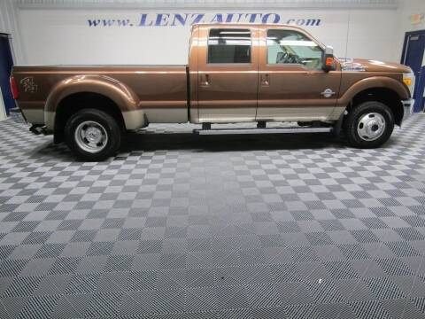 2011 Ford F-350 Super Duty for sale at LENZ TRUCK CENTER in Fond Du Lac WI