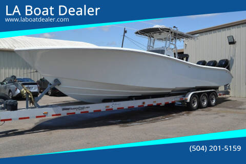 2005 Yellow Fin 36 for sale at LA Boat Dealer - Offshore Boats in Metairie LA
